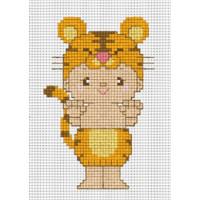 "Pinn №01 Набор для вышивания ""PINN"" №01 J-13C ""Восточный гороскоп. Тигр"""