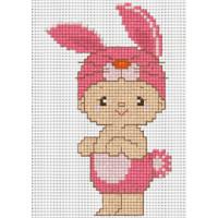 """Pinn №01 Набор для вышивания """"PINN"""" №01 J-13D """"Восточный гороскоп. Кролик"""""""