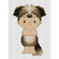 "Pinn №01 Набор для вышивания ""PINN"" №01 J-13K ""Восточный гороскоп. Собака"""