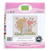 """Pinn №02 Набор для вышивания """"PINN"""" №02 31-N """"Сердце"""""""
