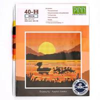 "Pinn №03 Набор для вышивания ""PINN"" №03 40-H ""Африканские мотивы. Утка"""