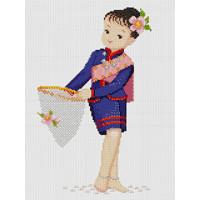 """Pinn №06 Набор для вышивания """"PINN"""" №06 32-B """"Тайский танец"""""""