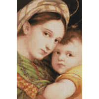 """Pinn №10 Набор для вышивания """"PINN"""" №10 CP-09 """"Мадонна с ребенком"""""""