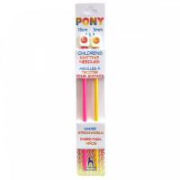 Pony 61661/04_BPS Спицы Pony прямые 18см 5.0мм, детские