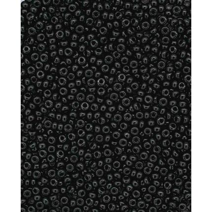 Бисер Preciosa 10/0, 20г черный 23980 (арт. 551506)