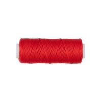 """Промысел LC-001 """"Промысел"""" Нитки для кожи вощёные, плоские LC-001 1 мм № 005 красный"""