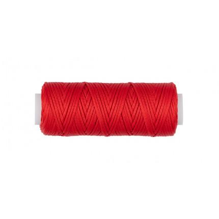 """""""Промысел"""" Нитки для кожи вощёные, плоские LC-001 1 мм № 005 красный (арт. LC-001)"""