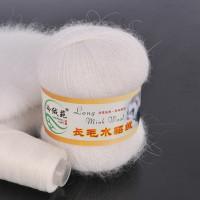 Mink wool 01 Норка длинноворсовая 01 белый