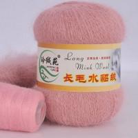 Mink wool 06 Норка длинноворсовая 06 пудра