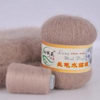 Mink wool 21 Норка длинноворсовая 21 песочный
