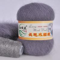 Mink wool 23 Норка длинноворсовая 23 мышинный