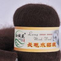 Mink wool 31 Норка длинноворсовая 31 коричневый