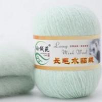 Mink wool 36 Норка длинноворсовая 36 мята