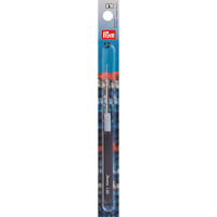 """Prym 175323 Для вязания """"PRYM"""" 175323 Крючок IMRA для тонкой пряжи сталь d 1.0 мм в блистере с цв. пласт. ручкой и колпачком"""