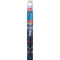 """Prym 175327 Для вязания """"PRYM"""" 175327 Крючок IMRA для тонкой пряжи сталь d 0.6 мм в блистере с цв. пласт. ручкой и колпачком"""