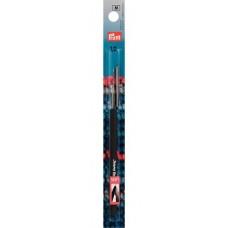 Prym 175623 Крючок IMRA Record для тонкой пряжи (сталь), мягкая ручка, 1.0мм