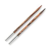 """Prym 223325 Спицы PRYM 223325 съемные длинные """"Natural"""" береза d 4.5 мм 11.6 см для комбинир. с леской разной длины"""