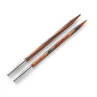 """Prym 223326 Спицы PRYM 223326 съемные длинные """"Natural"""" береза d 5.0 мм 11.6 см для комбинир. с леской разной длины"""