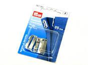 Prym 267261 Застежки для пояса юбки, пришивные (сталь) серебристый цв. 25 мм