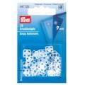 Prym 347125 Пришивные кнопки пластик квадратные прозрачные