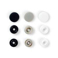 """Prym 393008 Кнопка """"PRYM"""" 393008 PL Color Snaps пластик d 12.4 мм 30 шт. серые/белые/темн.синие"""