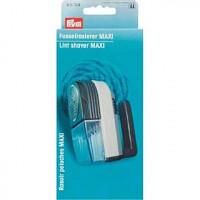 Prym 611724 Машинка для удаления катышков MAXI сизо-серый/фиолетовый цв. корпус пластиковый, сетка металлическая
