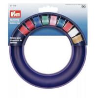 Prym 611978 Кольцо для хранения шпулей, для 20 металличсеких или пластиковых шпулей; без содержимого 13 см