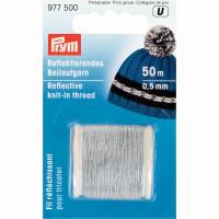"""Prym 977500 Для вязания """"PRYM"""" 977500 светоотражающая нить d 0.5 мм прозрачная"""