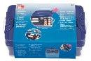 Prym Клик-бокс со вставкой для хранения швейных ниток пластик прозрачный крышка и вставка:фиолетовый цв. Клик-бокс со вставкой для хранения швейных ниток пластик прозрачный крышка и вставка:фиолетовый цв.