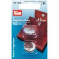 Prym Магнитная застежка 19 мм серебристый цвет Магнитная застежка 19 мм серебристый цвет