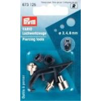 Prym Насадки для пробивания отверстий для щипцов Vario (сталь) 3/4/8 мм Насадки для пробивания отверстий для щипцов Vario (сталь) 3/4/8 мм