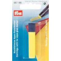 Prym Запасной стержень для клеевого аква-маркера желтый цв. Запасной стержень для клеевого аква-маркера желтый цв.