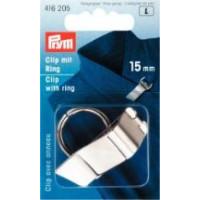 Prym Зажим с кольцом (сталь) 15 мм Зажим с кольцом (сталь) 15 мм