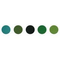 Пуговка N5 Набор декоративного  фетра FSR1.2 (N5)-12 1,2мм; 22см х 30см (5 листов, 5 цветов)