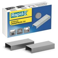 """RAPID 5000559 Скобы для степлера RAPID """"Omnipress 30"""" №24/6, 1000 штук, до 30 листов, 5000559"""
