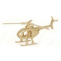 REZARK ROT-005 Объемные пазлы 3D ROT-005 Вертолет 26х26,5х14 см