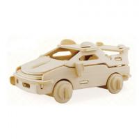 REZARK ROT-007 Объемные пазлы 3D ROT-007 Гоночная машина 13х9х6 см