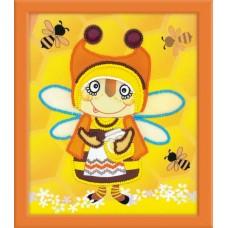 Набор для вышивания 0055 РТ Бабушка Пчела