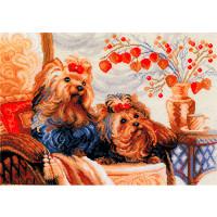 Риолис 135557 1248 Набор для вышивания Riolis 'Домашние любимцы', 40*30 см