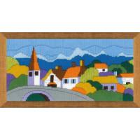 Риолис 1630 Городок в горах