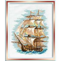 Риолис 164432 479 Набор для вышивания Riolis 'Корабль', 30*40 см