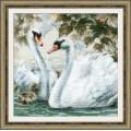 Риолис 1726 Белые лебеди