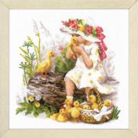 Риолис 1781 Девочка с утятами