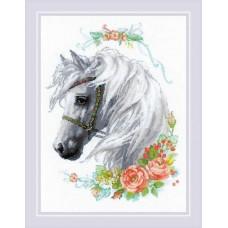 Набор для вышивания 1804 Белогривая лошадка