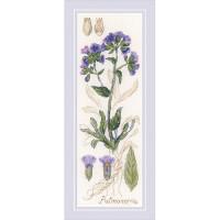 Риолис 503703 1797 Набор для вышивания Риолис 'Пульмонария'10*30 см