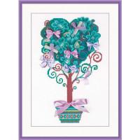 Риолис 547119 1462 Набор для вышивания Riolis 'Дерево желаний', 21*30 см