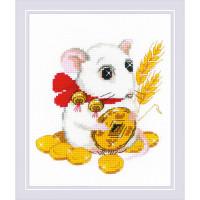 Риолис 554868 1835 Набор для вышивания Риолис 'К благополучию'15*18 см