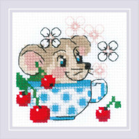 Риолис 558026 1837 Набор для вышивания Риолис 'День варенья' 10*10см