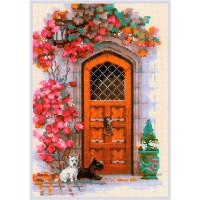 Риолис 558171 1832 Набор для вышивания Риолис 'Дверь в Шотландию' 21*30см