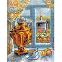 Риолис 641545 1145 Набор для вышивания Riolis 'Самовар', 30*40 см